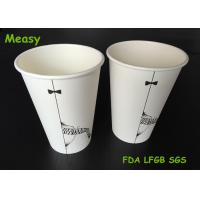 Buy cheap Popular 16oz disposable coffee cups , Hot Milktea Single Wall Paper Cups 500ml from wholesalers