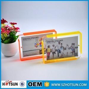 Cheap Custom design 4*6cm Cute acrylic photo frame / cheap picture frames in bulk for sale