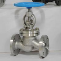 Cheap stainless steel globe valve PN16 for sale