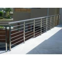 Cheap House stainless steel balcony railing design & stainless steel inox rod railing for sale