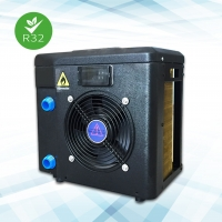 China Most popular rohs portable plug and play above ground mini swimming pool water heater on sale