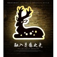 Cheap Deer Acrylic LED wall lights /indoor led wall lighitng for pube decoration for sale