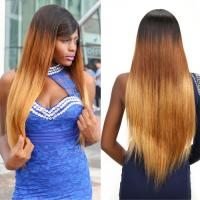 """Cheap 100% Ombre Three Tone Straight Brazilian Virgin Hair 30"""" Hair Extensions Tangle Free for sale"""