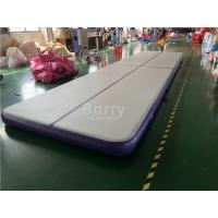 Quality Commercial Inflatable Air Track / Purple Air Jump Tumble Trak For Gymnastics wholesale