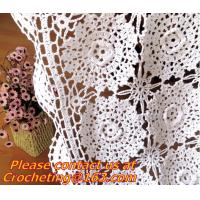 Cheap Crochet Round table clothing - table coverhandmade crochet heart doilies, blanket, clothes for sale