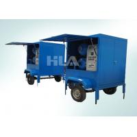 Cheap Fully Automatic Vacuum Transformer Mobile Oil Purifier For Outdoor Work for sale