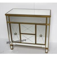 China MR Furniture Mirrored Door Cabinet Corner Chest Bed Side Table on sale