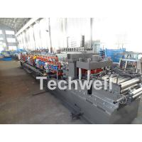 Cheap Carbon Steel CZ Channel Roll Forming Machine For Thickness 1.5-3.0mm With PLC Touch Screen Control for sale