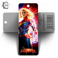 Cheap Custom Lenticular Promotional 3d Holographic Bookmarks 0.6mm PET+157g Coated Paper for sale