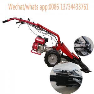 Cheap new model agricultural machinery gasoline and diesel engine mini tiller scythe mower, mini tractor scythe mower for sale