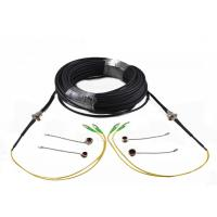 Buy cheap Waterproof CPRI Fiber Patch Cables ODC 4 Cores Socket / Plug To LC TPU Tactical Armored from wholesalers