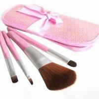 Cheap Promotional Makeup Kit with Aluminum Ferrules for sale
