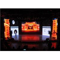 Quality P2.9 Stage Backdrop Indoor Advertising LED Display With 4000Hz Refresh Rate wholesale