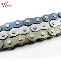 Cheap Universal Coloured Motorbike Chain Plated Aftermarket Motorcycle Chains for sale