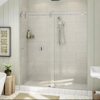 Cheap Top Roller Bathroom Sliding Glass Door Frameless Shower Enclosure for sale