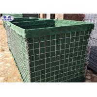 Cheap Collapsable Military Hesco Barriers HDP Galvanized Welded Geotextile Lined for sale