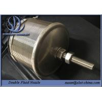 Cheap Double Fluid Nozzle For Water Processing And Water Cleaning for sale