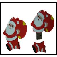 Cheap Christmas Gift!!! OEM Santa Claus Pvc usb flash drive, usb flash memory, usb disk,usb chip for sale