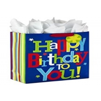 Cheap Kids birthday bag with special logo and beautiful printing for sale