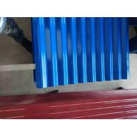 Cheap Waterproof Corrugated Steel Roofing Sheets Roof Sheets Galvanized Multi Color Corrugated Steel Roof Sheets for sale