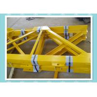 Cheap Steel Structure Tower Crane Mast Section Construction With Shot Blast wholesale