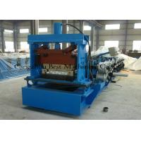 China Tapered Standing Seam Metal Roof Roll Forming Machine 5.5kw Hydraulic Cutting Type on sale