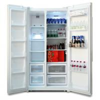 Cheap R600A Automatic Defrost 200L Double Door Refrigerator for Commercial Use for sale