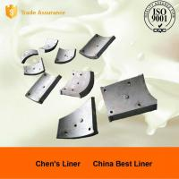 Cheap Wearable Pearlitic Cr-Mo Alloy Steel Heat Resistant Castings , Large Ball Mill Liners for sale