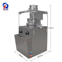 Cheap Vitamin Pharmacy Effervescent Tablet Press Machine For Continuously Pressing Powder for sale