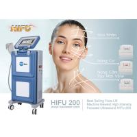 Cheap Hifu High Intensity Focused Ultrasound Hifu Anti Puffiness Skin Tightening Machine for sale