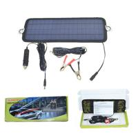 China 18V Car Charger Solar Charger for Car Battery 4.5W Solar Panel Car Charger Ship Battery Charger on sale