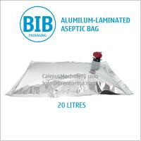 Cheap Food-Grade 20 Litre BIB Aseptic Bag 20L Bag-in-Box Packaging Bag for sale