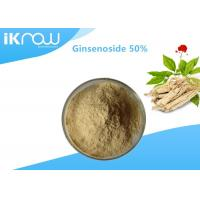 Cheap Solvent Extraction Natural Plant Ginsenoside / 50% Panax C.A. Meyer Ginseng Powder for sale