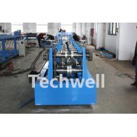 Cheap CZ Shaped Purlin Roll Forming Machine With 17 Forming Station TW-CZ300 for sale