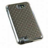 China Diamond Cases for Samsung Galaxy Note N7000/i922, Made of Hard Electroplated PC on sale
