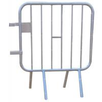 Cheap Temporary Crowd Control Barriers Galvanized Crowd Control Barricades Customized Size for sale