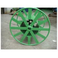a tubular reel for lightweight shipping of pipe or conduit custom-designed