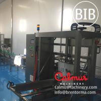 Cheap Fully-automatic Bag in Box Syrup Filling Machine Cartoning Line for sale