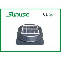 Cheap Durable 15w Solar Powered Ventilation Fan For Workshops / Warehouse for sale