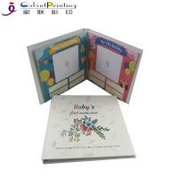Cheap Hardcover Paper Printing Services Baby Memory Books Keepsake Album First Year Record for sale