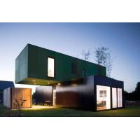 Cheap Movable Prefab Container House Kit , Ready Made Prefab Flat Pack Homes for sale