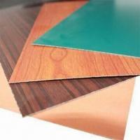High Pressure Laminate with 0.6 to 1.2mm Thickness, Easy-to-clean and -install