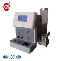 China Professional Rubber Testing Machine , 2.5 grade Limiting Oxygen Index Tester For Plastics Rubber Foam on sale