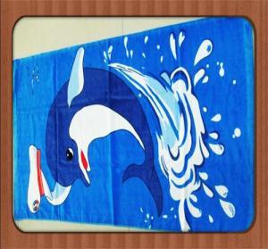 microfiber towel wholesale polyester fabric promotional beach towel on sale