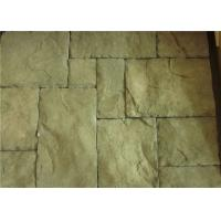 Cheap Custom Rectangle Faux Stone Siding For Houses Low Water Absorption for sale