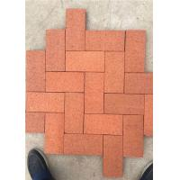 Cheap Standard Size Solid Clay Baking Brick , Rustic Decorative Brick Pavers for sale
