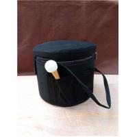 Cheap Black Padded Pure Cotton Carrying Case For Quartz Crystal Singing Bowls Made In China  Easy to Take for sale