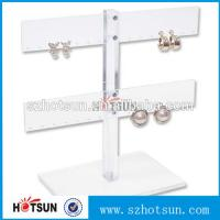 Cheap Wholesale Cheap Cool Style Fashion Acrylic Jewelry Display, Acrylic Earring Display for sale