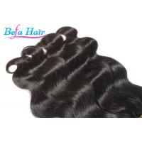 Cheap Pure Virgin Indian Body Wave Wet And Wavy Weave Human Hair Bulk 3.3oz - 3.5oz/pcs for sale