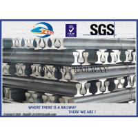 Cheap GB6KG GB9KG GB12KG Steel Crane Rail / Gantry Crane Track For Railway Construction for sale